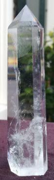 Bergkristal geslepen punt extra kwaliteit 108 mm hoog
