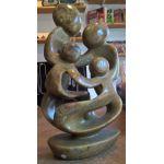 Serpentijn beeld familie
