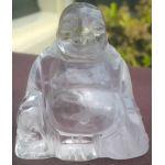 Bergkristal Buddha