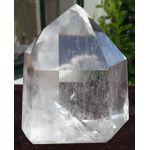 Bergkristal geslepen punt staand extra kwaliteit