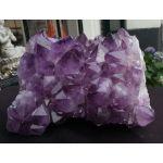 Amethist cluster  donkerpaarse kristallen XXL