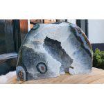 Agaat-Bergkristal staand ruw