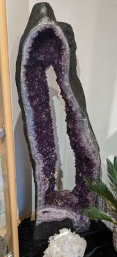 """Hele speciale Amethist 'ring' Geode XXL  """"Gigant"""""""